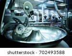 cutter or mincer for meat... | Shutterstock . vector #702493588