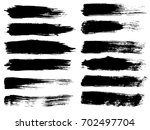 vector collection of artistic... | Shutterstock .eps vector #702497704