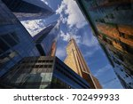 view on moscow biggest business ...   Shutterstock . vector #702499933