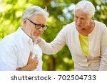 old age  health problem and...   Shutterstock . vector #702504733