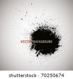 grunge round banner. | Shutterstock .eps vector #70250674