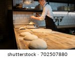 food cooking  baking and people ...   Shutterstock . vector #702507880