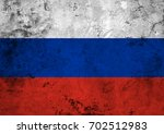 flag of the russian federation... | Shutterstock . vector #702512983