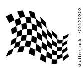 win flag. champion flag. vector ... | Shutterstock .eps vector #702520303