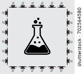 test tube vector icon   Shutterstock .eps vector #702564580