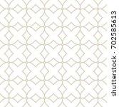 art deco seamless background. | Shutterstock .eps vector #702585613