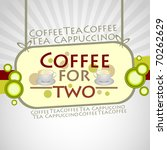 coffee background. vector...   Shutterstock .eps vector #70262629