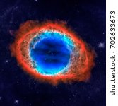 The Ring Nebula Or Messier 57...