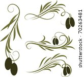 olive branches | Shutterstock .eps vector #70263481