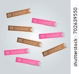 business infographics template... | Shutterstock .eps vector #702639550