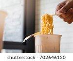 instant noodle | Shutterstock . vector #702646120