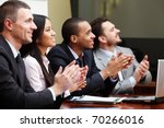 multi ethnic business group... | Shutterstock . vector #70266016