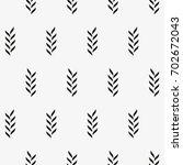 vector seamless pattern. modern ... | Shutterstock .eps vector #702672043