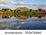 solovki  republic of karelia ... | Shutterstock . vector #702676840