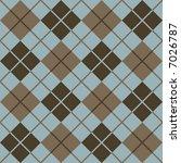 Seamless Argyle Pattern In...