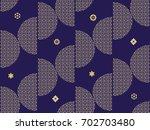 beautiful japanese seamless ...   Shutterstock .eps vector #702703480