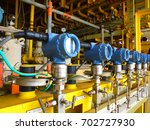 pressure transmitter  and... | Shutterstock . vector #702727930