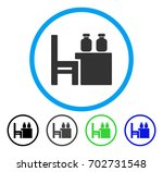 apothecary table rounded icon.... | Shutterstock .eps vector #702731548