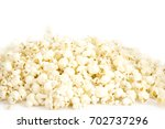 popcorn on a white background | Shutterstock . vector #702737296