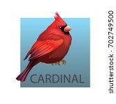 Northern Cardinal Bird On A...