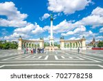 Small photo of Budapest, heros square