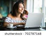 girl | Shutterstock . vector #702787168