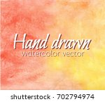 abstract hand drawn vector... | Shutterstock .eps vector #702794974