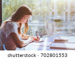 education  student girl in... | Shutterstock . vector #702801553