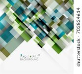 abstract blocks template design