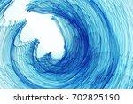 long exposure lights | Shutterstock . vector #702825190