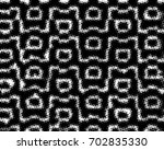 grunge halftone black and white.... | Shutterstock . vector #702835330