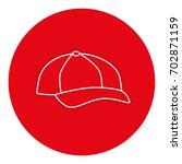 baseball cap isolated icon | Shutterstock .eps vector #702871159