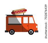 fast food icon image | Shutterstock .eps vector #702876439