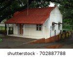 rural village poor house | Shutterstock . vector #702887788