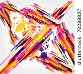 abstract background vector | Shutterstock .eps vector #70288837
