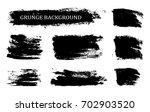 vector paint brush strokes... | Shutterstock .eps vector #702903520