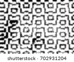 grunge halftone black and white.... | Shutterstock . vector #702931204