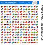 Waving Flag Icons   All World...