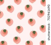 seamless.summer pattern with...   Shutterstock .eps vector #702961690