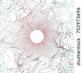 abstract big data illustration. ... | Shutterstock .eps vector #702973696