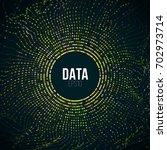 abstract big data illustration. ... | Shutterstock .eps vector #702973714