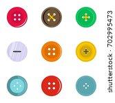 circular clothes button icon... | Shutterstock .eps vector #702995473