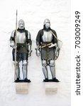 templar knight | Shutterstock . vector #703009249