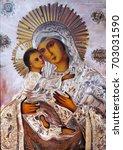 Virgin Mary With The Baby Jesu...