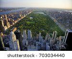 manhattan central park view... | Shutterstock . vector #703034440