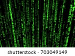 Falling Random Numbers Matrix...