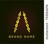 brock cord golden metallic logo