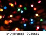 Lit Christmas Lights Strand...