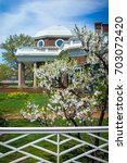 charlottesville  virginia  ... | Shutterstock . vector #703072420