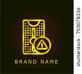 tower golden metallic logo